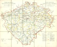 Zeleznicni Mapy Cech Moravy A Slezka